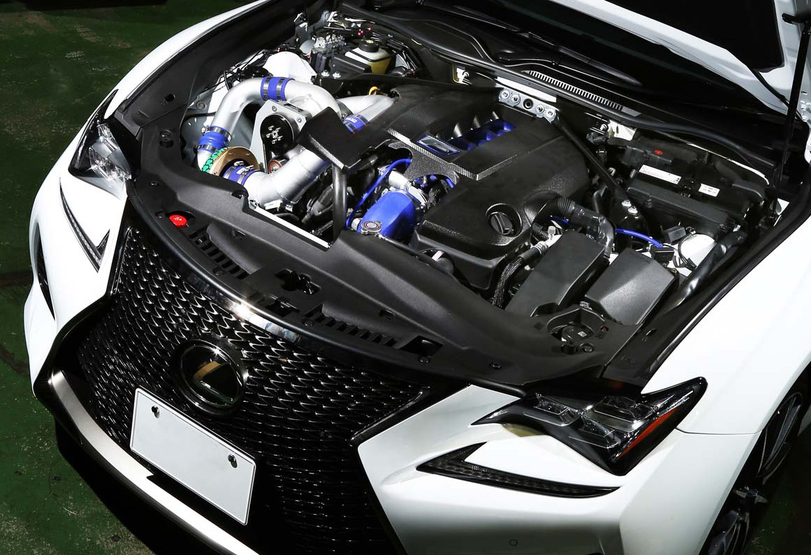 Lexus gs f supercharged